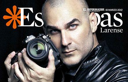 ESTAMPAS Larense entrevista Rubendario portada