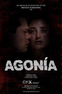Agonia Invitacion
