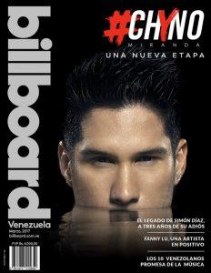 Chino Miranda portada Billboard Venezuela