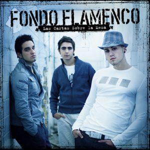 Fondo Flamenco portada disco Las Cartas Sobre la Mesa