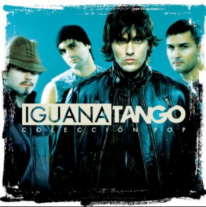 Iguana Tango portada disco Coleccion Pop