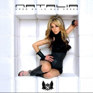Natalia portada disco Nada Es lo que Crees