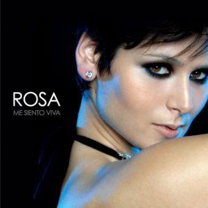 Rosa portada disco Me Siento Viva