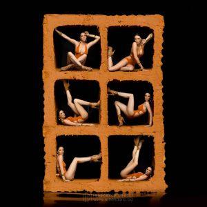 Antoinette Vandijk calendario Inserpaz
