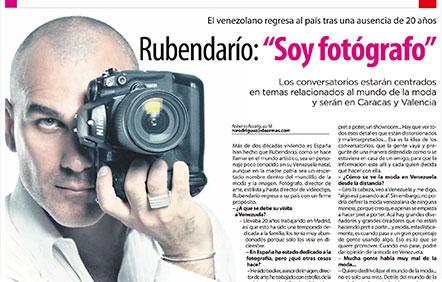 2001 entrevista Rubendario portada