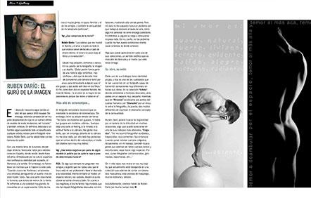 entrevista VANITY GAY Rubendario 2008 portada